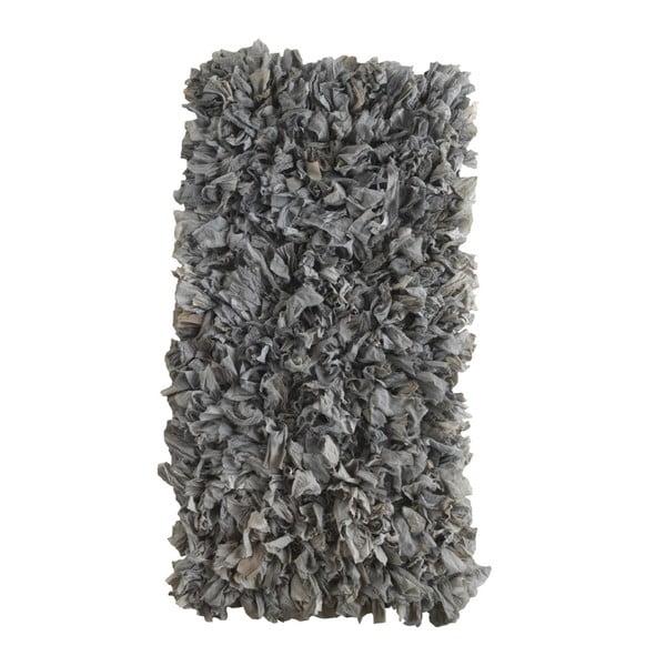 Szary dywan Geese Fluffy, 120x60 cm