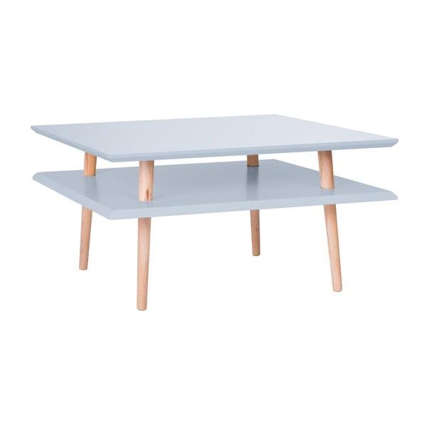 Square világosszürke dohányzóasztal, 68 x 68 cm - Ragaba