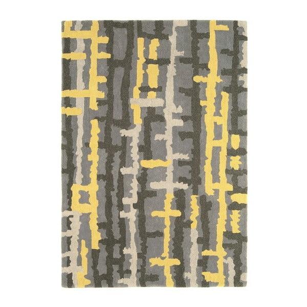 Vlněný koberec Ripley Yellow 120x170 cm