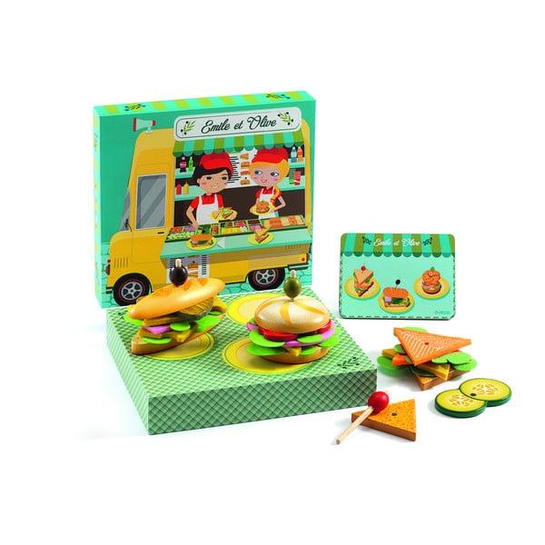 "Joc creativ pentru copii Djeco ""Sandwich"""