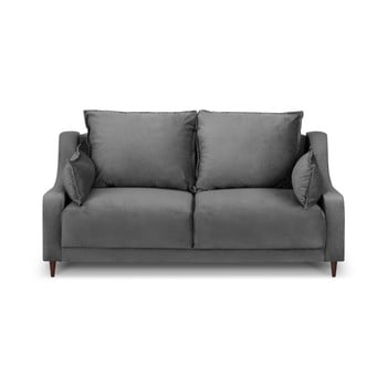Canapea cu 2 locuri Mazzini Sofas Freesia, gri de la Mazzini Sofas