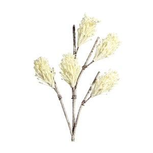 Umělá květina s krémovými květy Ixia Gugu, výška104cm