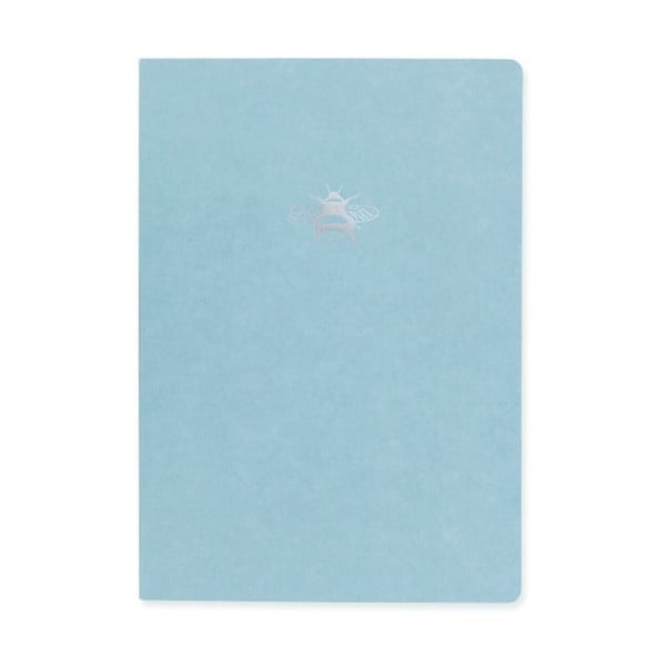 Caiet A5 GO Stationery Nature Dance, albastru