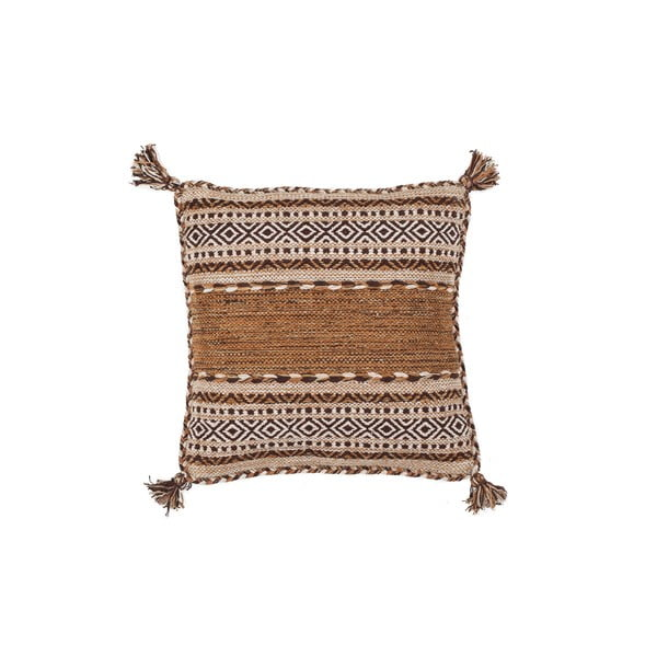 Polštář Native Brown, 45x45 cm