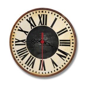 Nástěnné hodiny Chalk Rome, 30 cm