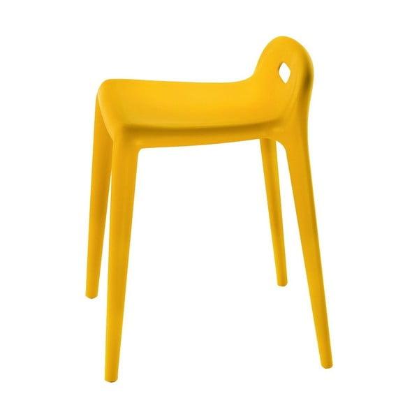 Žlutá stolička Magis Yuyu