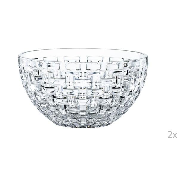 Sada 2 mís z křišťálového skla Nachtmann Bossa Nova, ⌀ 15 cm