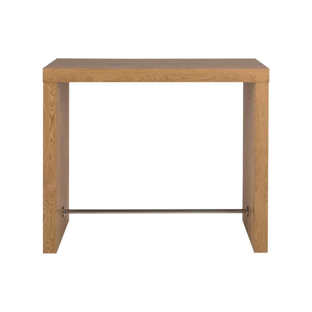 Barový stolek v dekoru dubového dřeva Actona Block