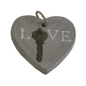 Dekorativní srdce s klíčem Stardeco Love