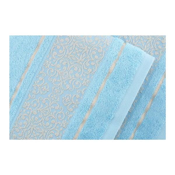 Sada 2 osušek Giselle Blue, 70x140 cm
