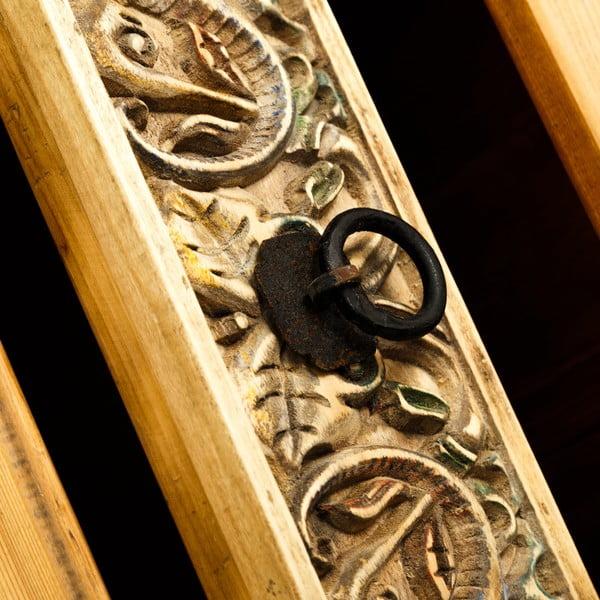 Dřevěná komoda Denzzo Natural