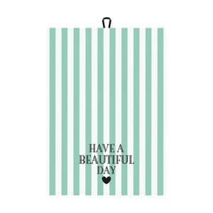 Utěrka Miss Étoile Have A Beautiful Day, 50 x 70 cm