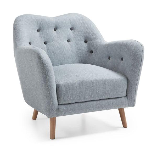 Kamin kékesszürke fotel - La Forma