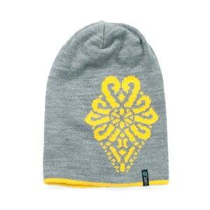 Čepice Ornament Yellow