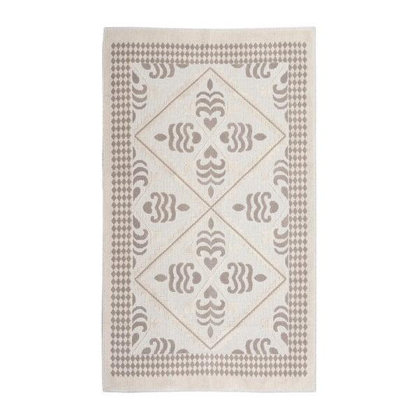 Krémový bavlněný koberec Floorist Flair, 160x230cm