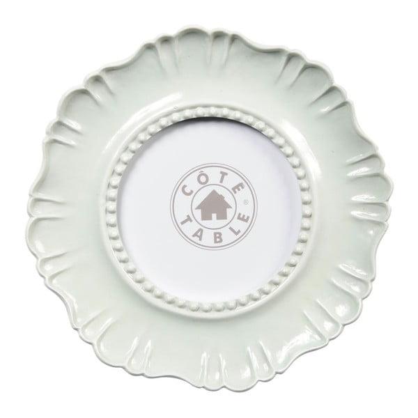 Fotorámeček Fleur White, 19x1,2x19 cm