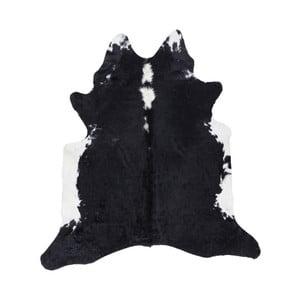 Černobílá kožešina Western, 155x220cm
