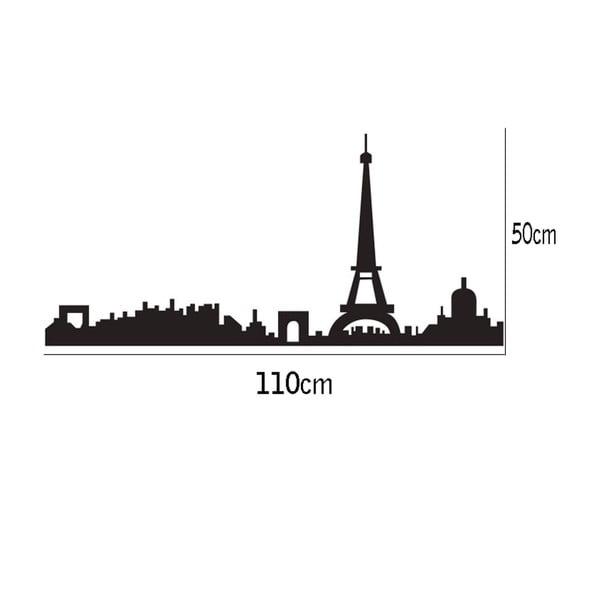 Dekorativní samolepka Paris, 50x110 cm