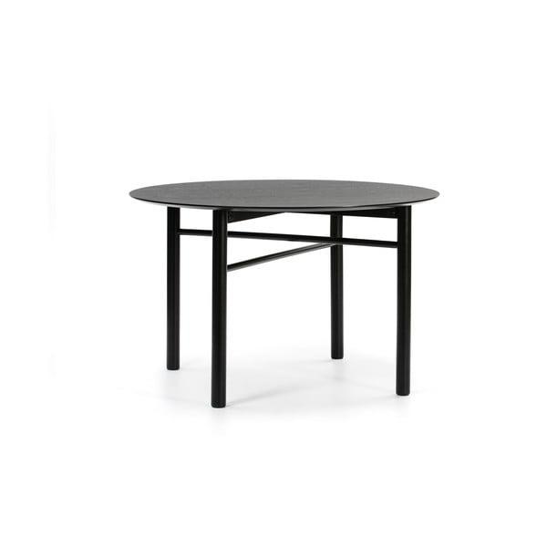 Masă rotundă Teulat Junco, ø 120 cm, negru