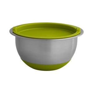 Mísa se zeleným silikonovým víkem Brandani Bombetta, ⌀19cm