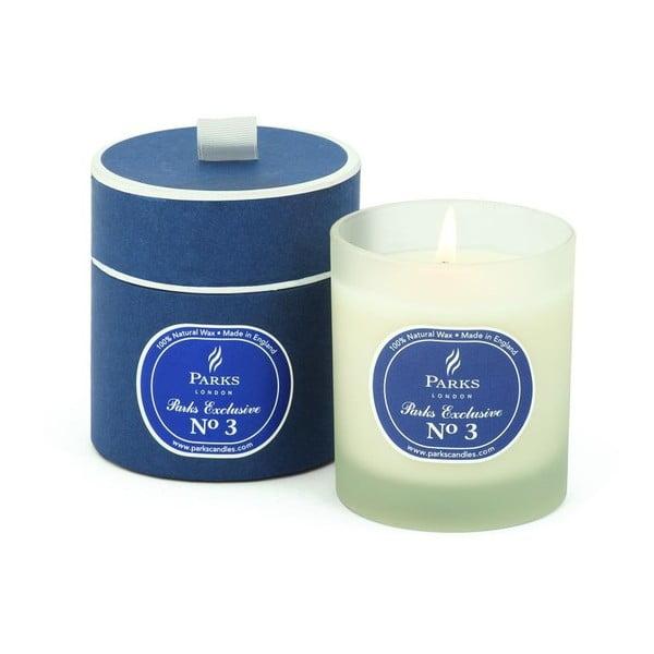 Lumânare parfumată Parks Candles London Exclusive, aromă lemn de agar, patchouli, condimente, 50 ore