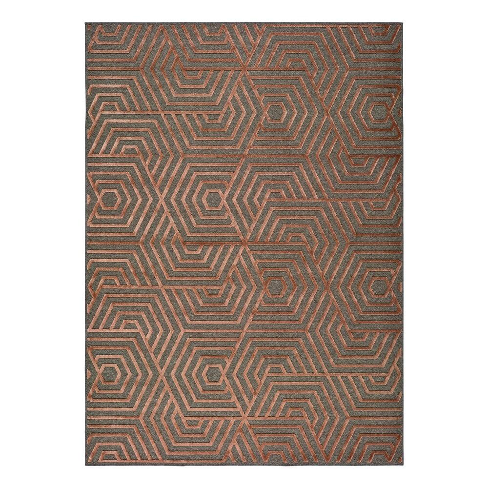 Červený koberec Universal Lana, 120 x 170 cm
