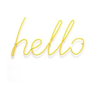 Žlutý věšák Hello Coat