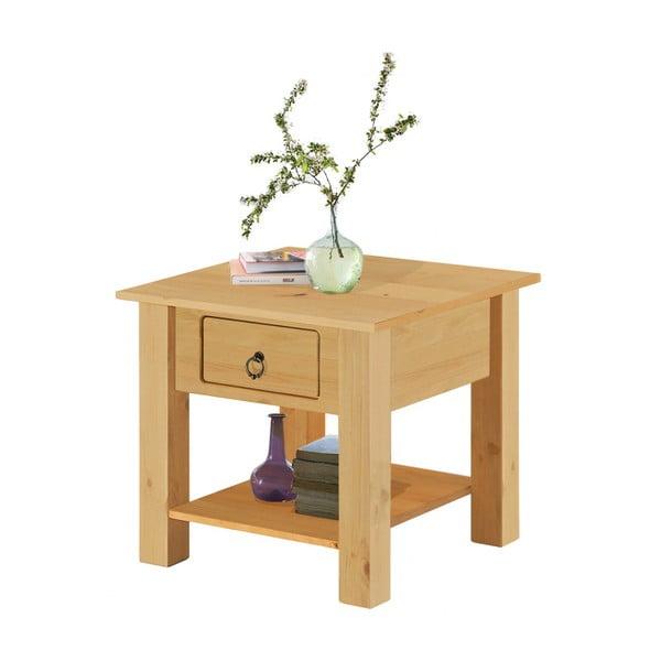 Přírodní konferenční stolek z borovicového dřeva Støraa Klein
