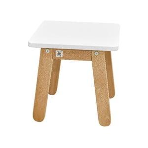 Bílá dětská stolička BELLAMY Woody