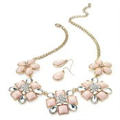 Set náhrdelník a náušnice Rose