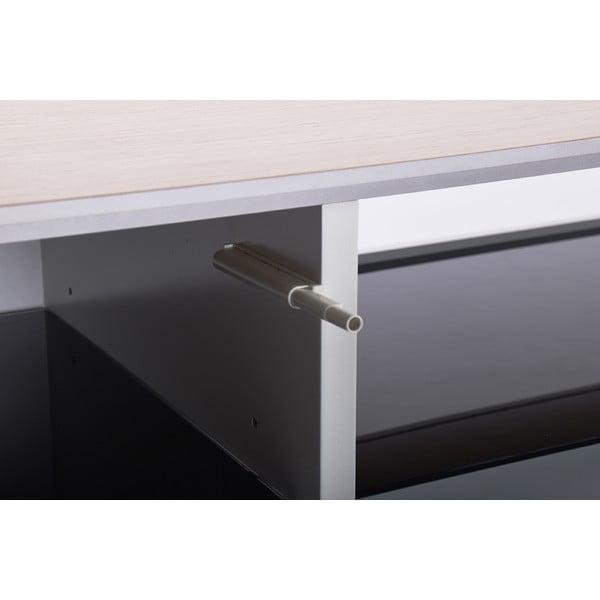 Černý TV stolek RGE Leon