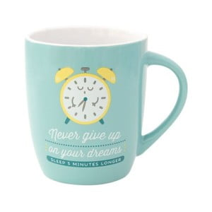 Porcelánový hrníček Mr. Wonderful Never Give Up, 300 ml