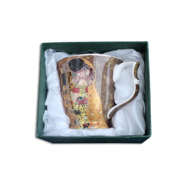 Gustav Klimt - hrnek Kiss