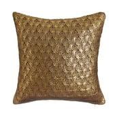 Zlatohnědý polštář Denzzo So Chic, 45x45cm