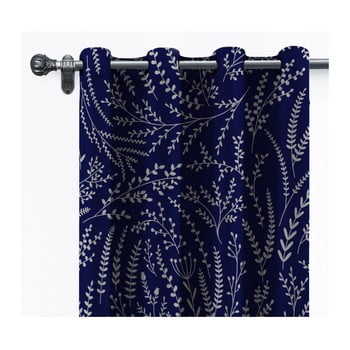 Draperie din catifea Velvet Atelier, 140 x 260 cm, albastru închis de la Velvet Atelier