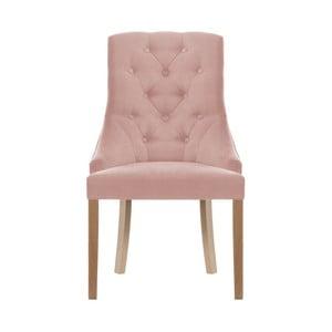 Světle růžová židle Jalouse Maison Chiara