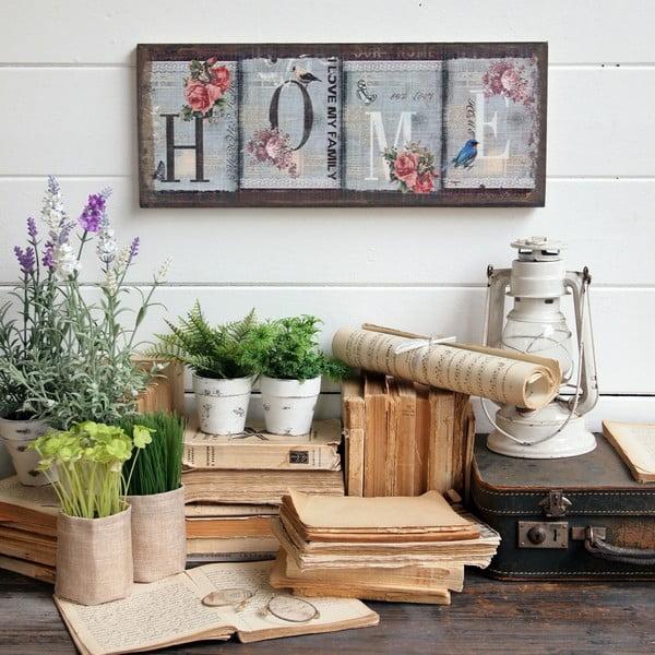 Nástěnná dekorace Home