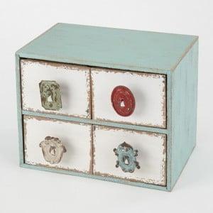 Dřevěné šuplíky Cabinet