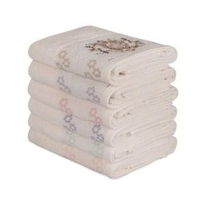 Sada 6 bavlněných ručníků Daireli Mesmo, 50 x 90 cm