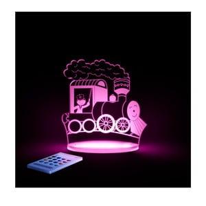 Lampă de veghe cu LED pentru copii Aloka Train