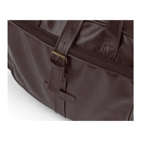 Pánská taška Solier S10, hnědá