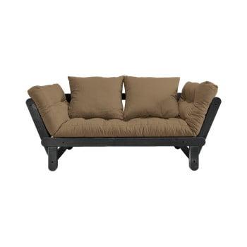 Canapea extensibilă Karup Design Beat Black/Mocca de la Karup Design