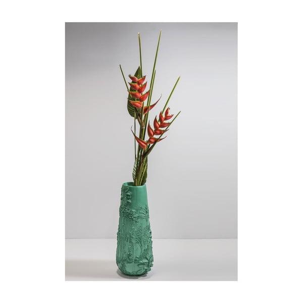 Vază Kare Design Jungle Turquoise, înălțime 83 cm, verde turcoaz