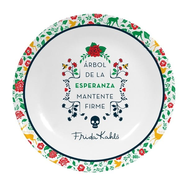 Nástěnný dekorativní keramický talíř Madre Selva Arbol de la Esperanza