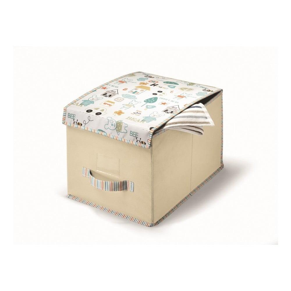 Béžový úložný box Cosatto Baby, 25 x 40 cm