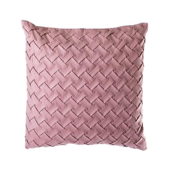 Różowa poduszka JAHU Gama, 45x45 cm