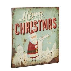 Cedule Merry Chrismas, 30x30 cm