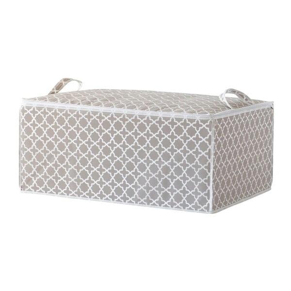 Bézs ágyneműtartó doboz, hosszúság 70 cm - Compactor