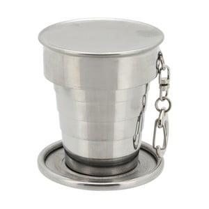 Skládací nerezový pohárek Cattara, 60 ml