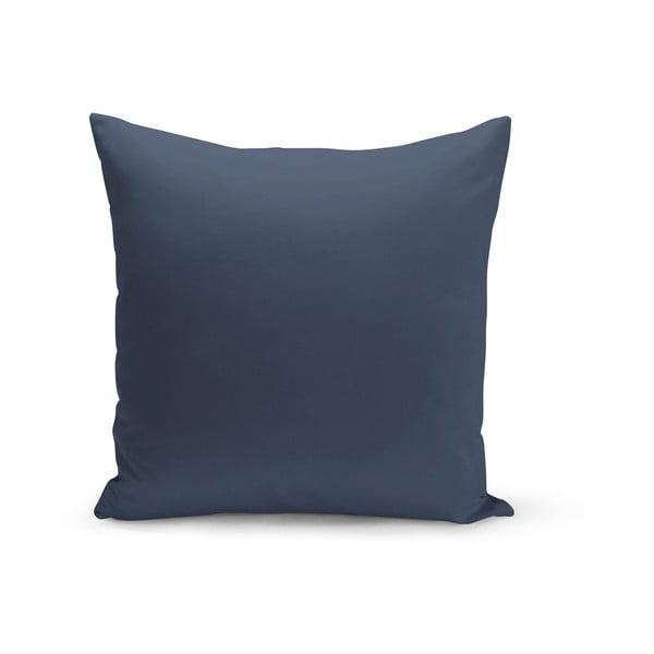 Námořnicky modrý polštář s výplní Lisa, 43 x 43 cm